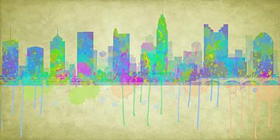 Imaginitive Digital Art - Columbus Ohio by Paulette B Wright