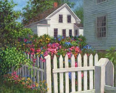 Come Into The Garden Print by Susan Savad