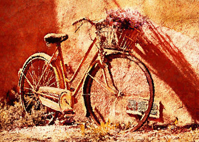 Traditional Painting - Come Ride With Me - Vintage Art by Georgiana Romanovna