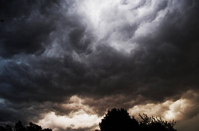 Clouds Photograph - Comes The Storm by Randi Kuhne