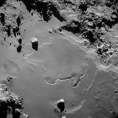 Mosaic Photograph - Comet Churyumov-gerasimenko From Rosetta by Esa/rosetta/navcam � Cc By-sa Igo 3.0