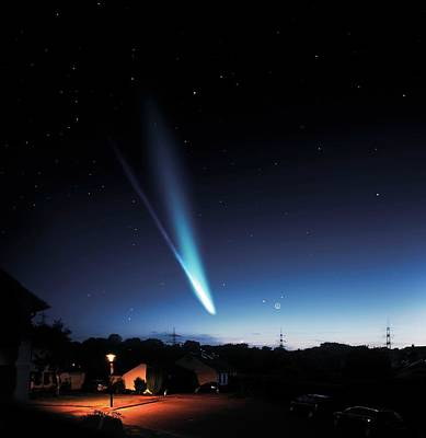 2012 Photograph - Comet Ison by Detlev Van Ravenswaay