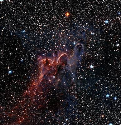 Digitized Image Photograph - Cometary Globules In Vela And Puppis by Robert Gendler