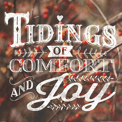 Comfort And Joy Print by Laura Marshall