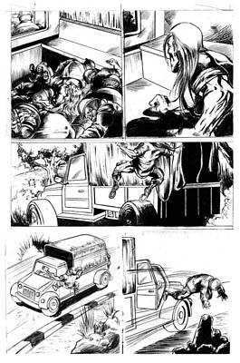 Photograph - Comic Page by Abhishek Vishwakarma