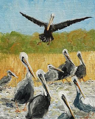 Painting - Coming Through by Keith Wilkie