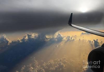 Coming Thru The Storm Print by Bob Hislop