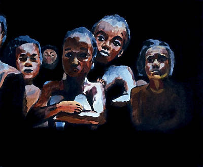 Black History Painting - Coming To America by Jeremy Phelps