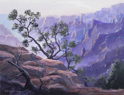Mist Painting - Commanding View by Jerry McElroy