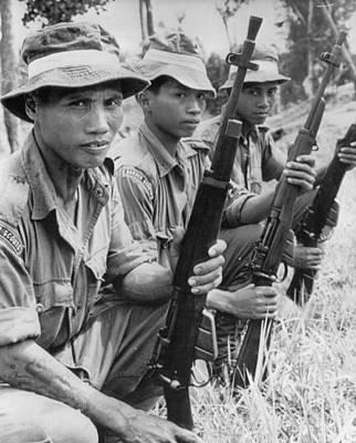 Euphoria Photograph - Commando Patrol by Retro Images Archive