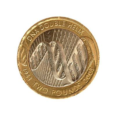 Sterling Photograph - Commemorative Two Pound Coin by Public Health England
