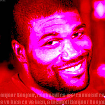 Comment Ca Va Rampage Jackson Original by Greg Hoey