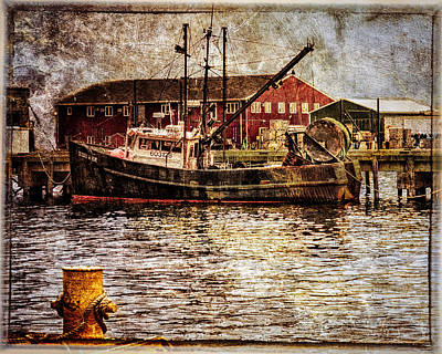 Commercial Fishing Boat Print by Bob Orsillo
