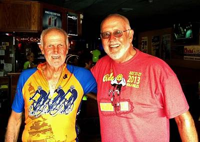 Brotherhood Photograph - Commission Free - Ragbrai Brothers by Benjamin Yeager