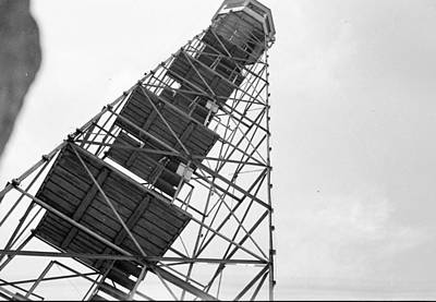 Completed Air Traffic Control Tower Print by Kevin Murphy