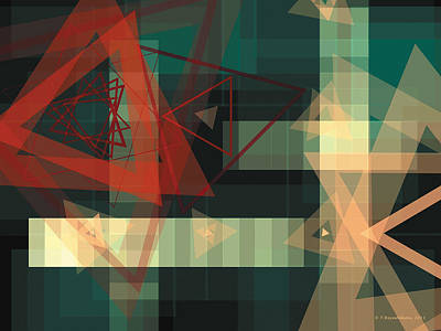 Composition 36 Print by Terry Reynoldson