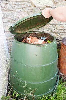 Waste Photograph - Composting Bin by Ashley Cooper