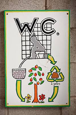 Composting Toilet Print by Ashley Cooper