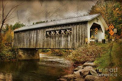 Comstock Bridge 2012 Print by Deborah Benoit
