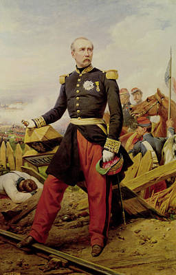 Independence Painting - Comte Maurice De Macmahon  by Emile Jean Horace Vernet