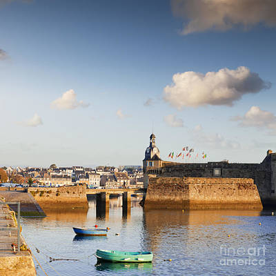 Concarneau Brittany France Print by Colin and Linda McKie