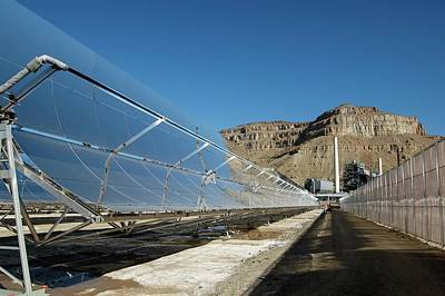Generator Photograph - Concentrating Solar Power Plant by Us Department Of Energy