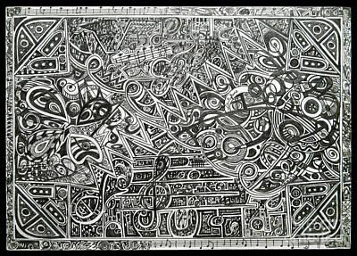 Concert Print by Denisa Laura Doltu