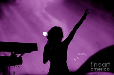 Stars Photograph - Concert by Michal Bednarek