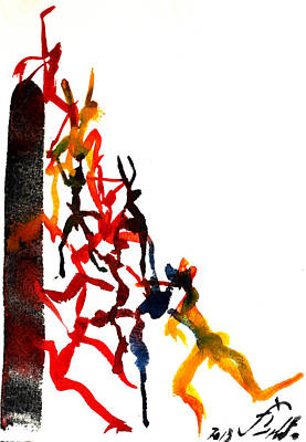 Concertinas 2 Original by Jorge Berlato