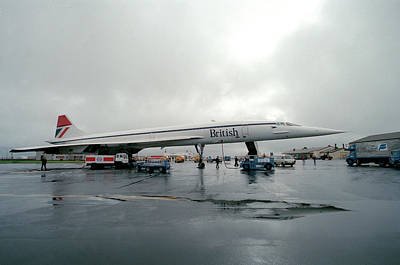 Esso Photograph - Concorde Refuelling by Us National Archives