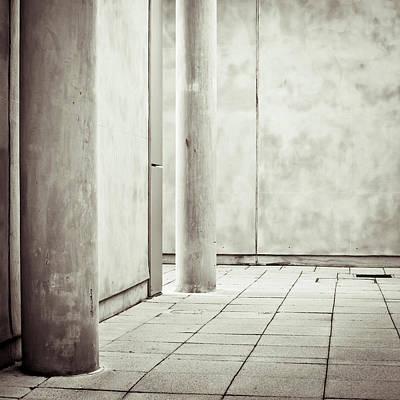 Concrete Space Print by Tom Gowanlock
