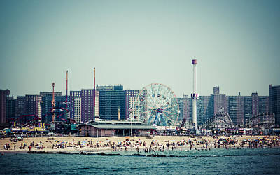 Coney Island Dream Print by Frank Winters