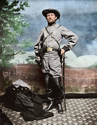 Pride Painting - Confederate Army Colonel John S. Mosby by Stocktrek Images