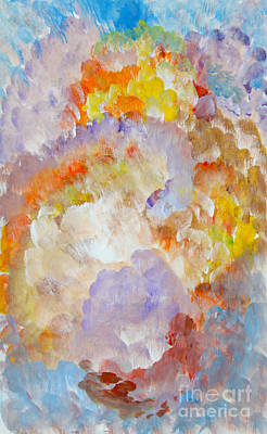 Painting - Conference Of Color Choir Of Sound by Anne Cameron Cutri