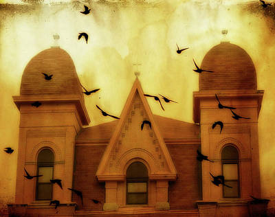 Congregation  Print by Gothicolors Donna Snyder