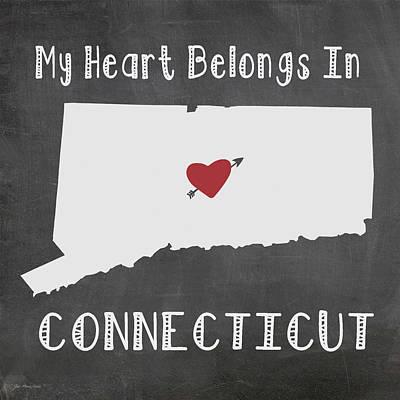 Connecticut Print by Jo Moulton