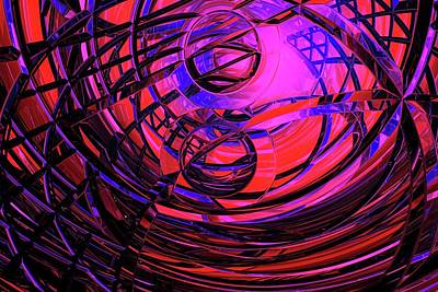 Labyrinth Photograph - Connections by Carol & Mike Werner
