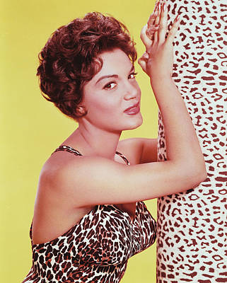 Connie Francis Print by Silver Screen