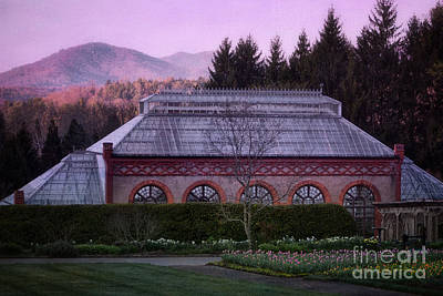 Conservatory At Biltmore Estate Print by Doug Sturgess