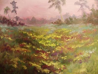 Consider How The Wild Flowers Grow Original by Beth Arroyo