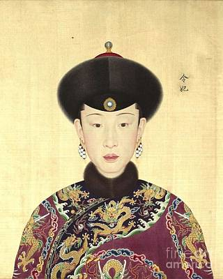 Ling Painting - Consort Ling Of Emperor Qianlong by Roberto Prusso
