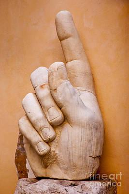 Constantine Hand Print by Brian Jannsen