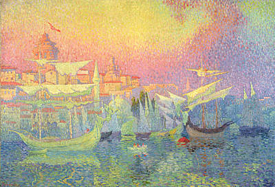 Pointillist Painting - Constantinople by Henri Person