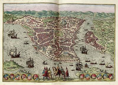Constantinople Print by Library Of Congress, Geography And Map Division