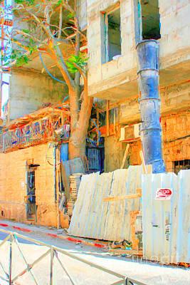 Construction Print by Doc Braham