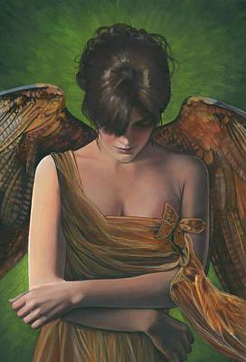 Contemplative Painting - Contemplative by Carol Heyer