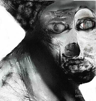 Digital Art - Contemporary Clown by Ruth Clotworthy