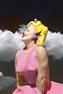 1950s Movies Digital Art - Contemporary Marilyn by Matthew Bamberg