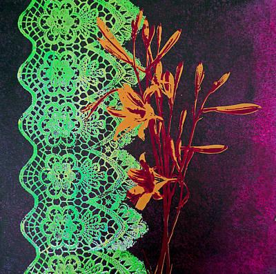 Contrasts Print by Bitten Kari