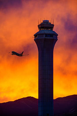 Control Tower Print by Dustin  LeFevre